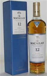 Macallan Triple Cask 12yr Single Malt Scotch (1x 700mL), Scotland.