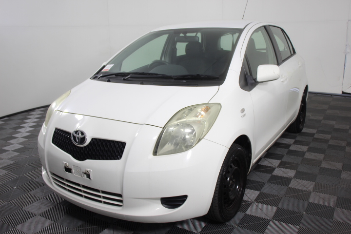 2007 Toyota Yaris YR NCP90R Manual Hatchback