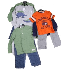 Assorted CARTER`S Boys Clothing, Sizes: