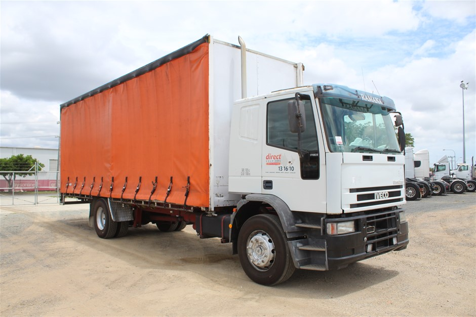 2001 Iveco EuroCargo 4 x 2 Curtainsider Rigid Truck