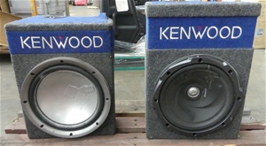 2 x Kenwood Subwoofers