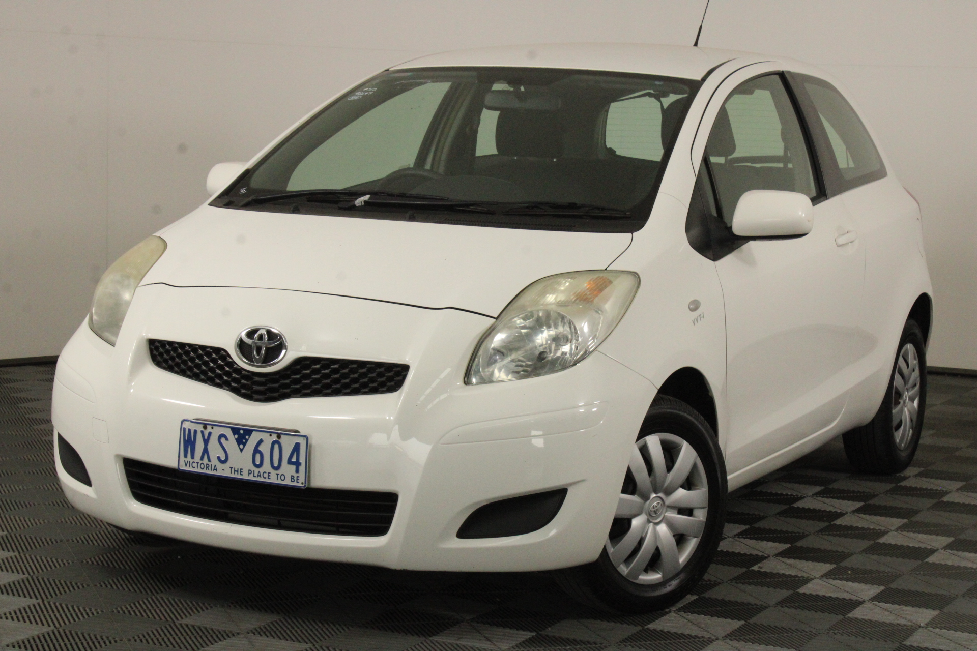 2009 Toyota Yaris YR NCP90R Manual Hatchback