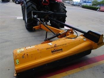 2014 Muthing MU-H 200 Offset Flail Mower/Mulcher