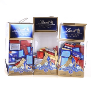 3 x LINDT Assorted Swiss Premium Chocola