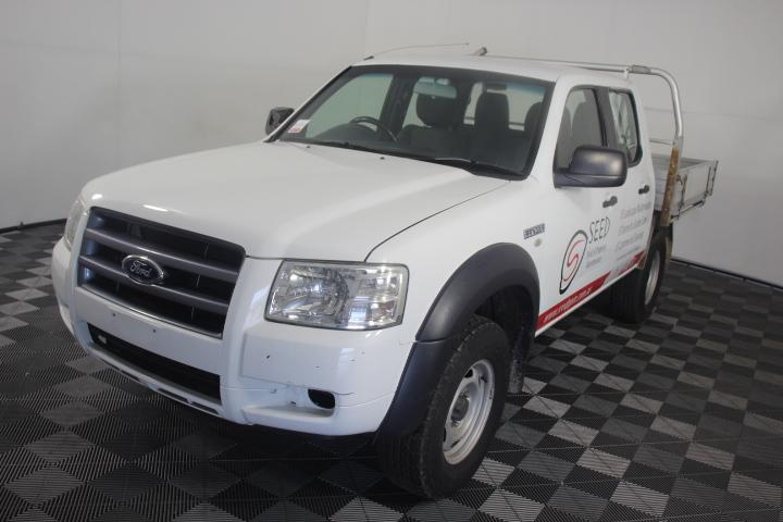 2008 Ford Ranger XL 4x4 Crew Cab PJ Turbo Diesel Automatic Dual Cab