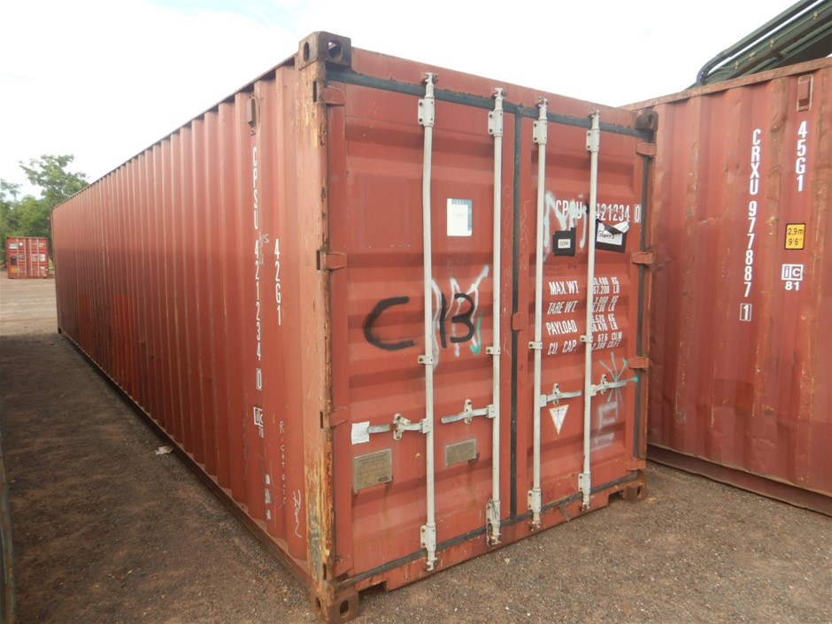 """40"""" Shipping Container Standard"""