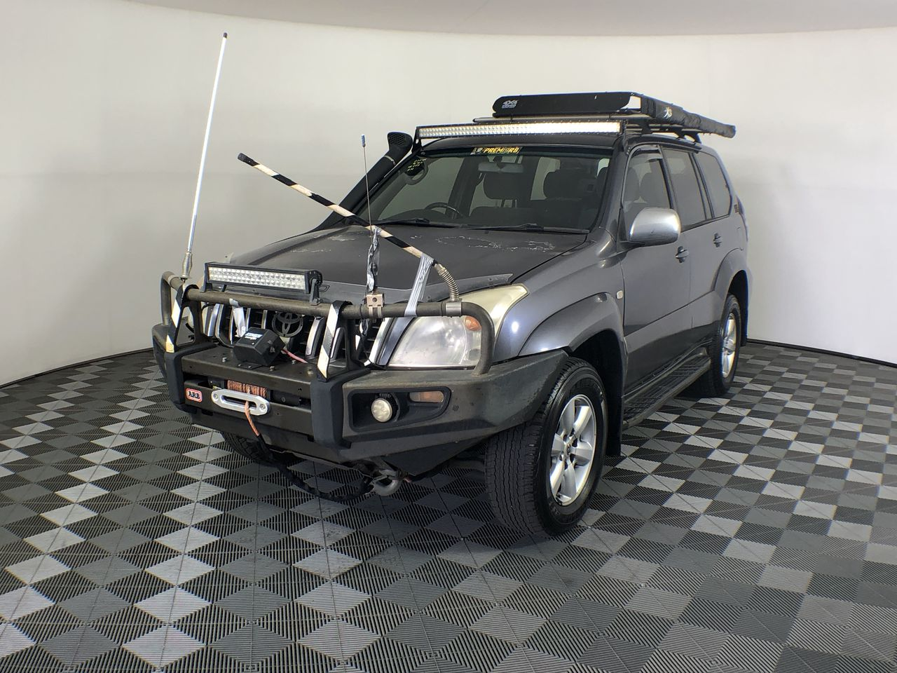 2004 Toyota Landcruiser Prado GXL (4x4) KZJ120R T/Diesel Auto 8 Seats Wagon