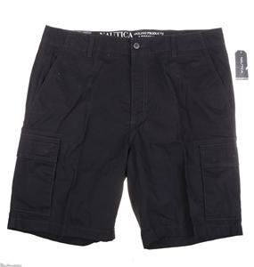 NAUTICA Men`s Modern Fit Cargo Shorts, S