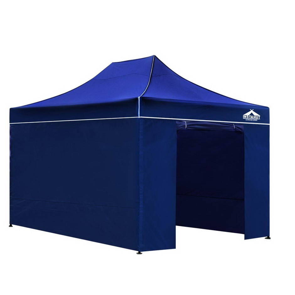 Instahut 3x4.5m Outdoor Gazebo - Blue