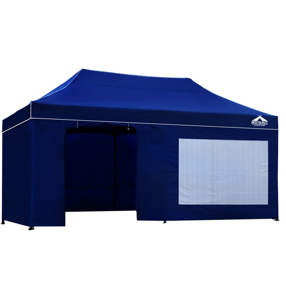 Instahut 3x6m Outdoor Gazebo - Blue