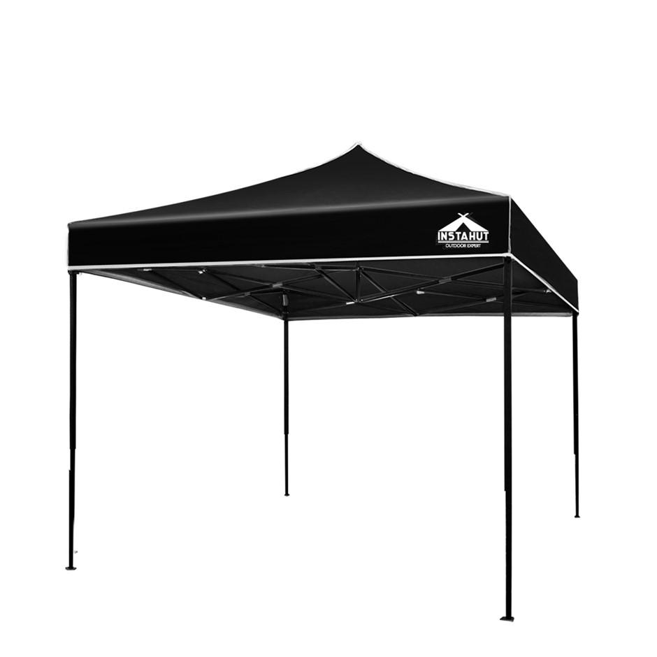 Instahut 3x3m Outdoor Gazebo - Black