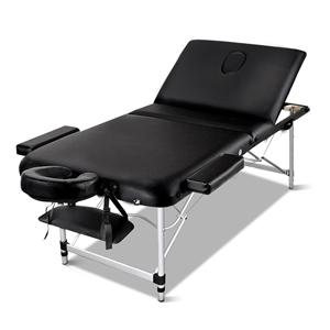 Zenses Massage Table 75cm Portable 3 Fol