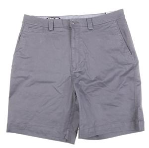 SIGNATURE Men`s Twill Shorts, Size 36, E