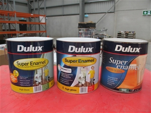 Qty 39 x Dulux 4L Assorted Paint