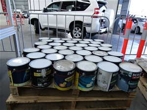 4 Litres Assorted Paint Pallet