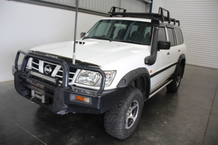 2004 Nissan Patrol DX (4x4) GU II Turbo Diesel Manual Wagon