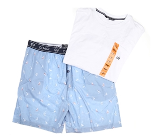 COAST CLOTHING & CO Men`s 2pc Sleepwear