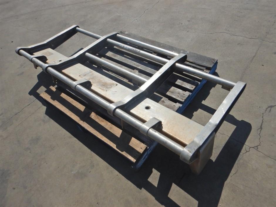 Ton Of Muscle Alloy Truck Bull Bar (Pooraka, SA)