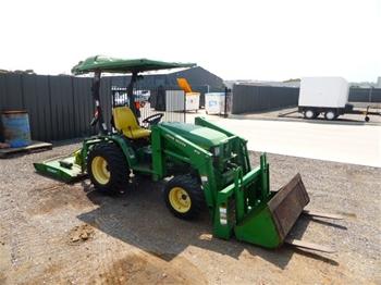 John Deere A110 HST Tractor