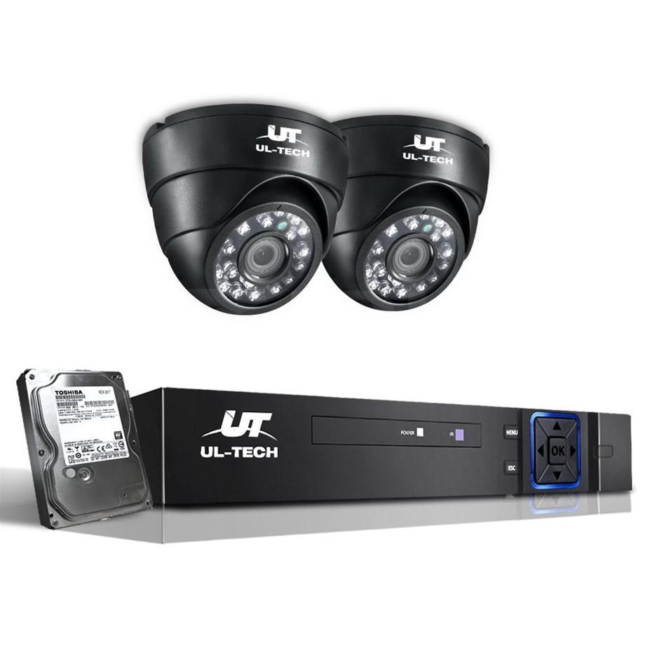 UL-tech CCTV Security System Camera Home 1080P HD IP 2MP Long Range 1TB
