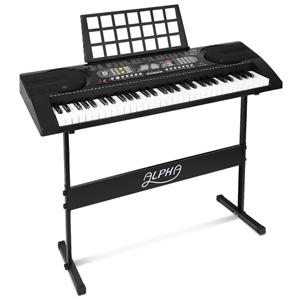 Alpha 61 Keys Electronic Piano Keyboard