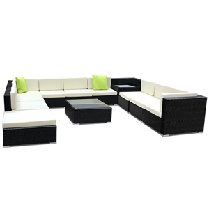 Gardeon 12 Piece Outdoor Furniture Set W