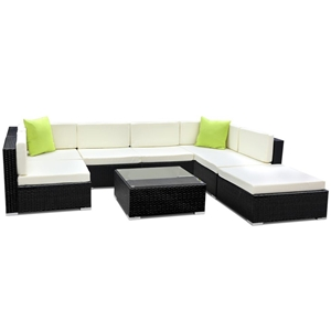 Gardeon 8 Piece Outdoor Furniture Set Wi