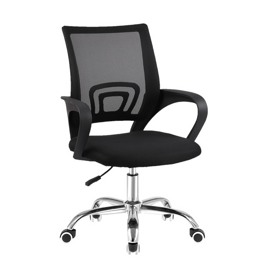 Artiss Office Chair Gaming Chair Computer Mesh Executive Mid Back Black