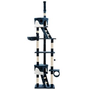 i.Pet 260cm Multi Level Cat Scratching P