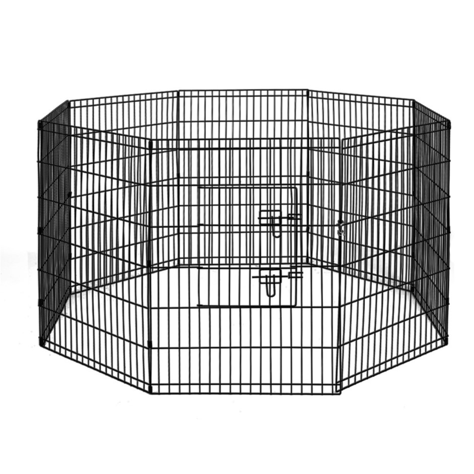 i.Pet 36inch Pet Play Pen - Black