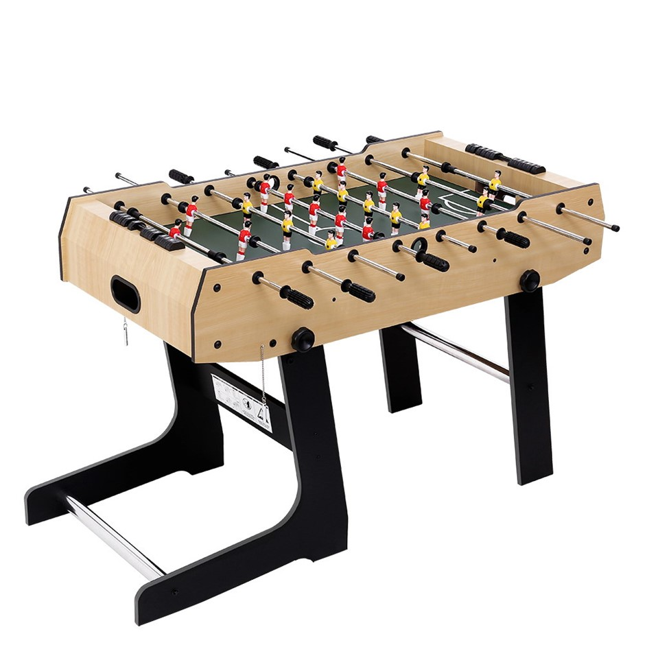 4FT Foldable Soccer Table Balls Foosball Football Game Home Party Gift