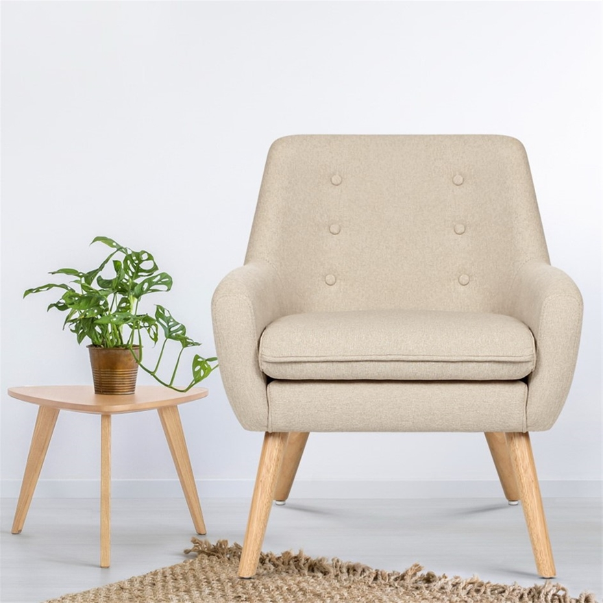 Buy Armchair Lounge Chair Accent Armchairs Fabric Single ...