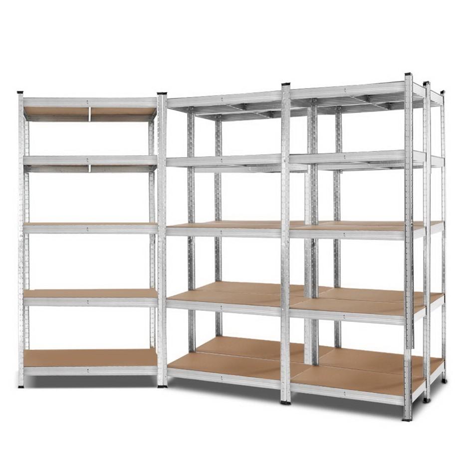 Giantz 5x0.9M Warehouse Shelving Racking Storage Garage Steel Metal Rack