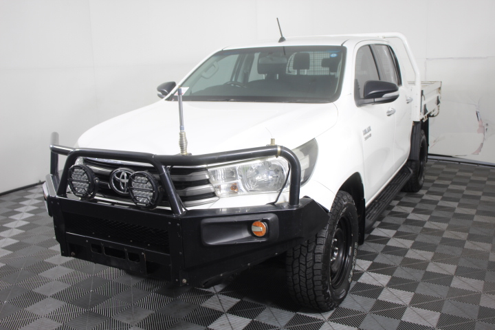 2015 MY16 Toyota Hilux SR T/D Turbo Diesel Auto 4WD 136,828km