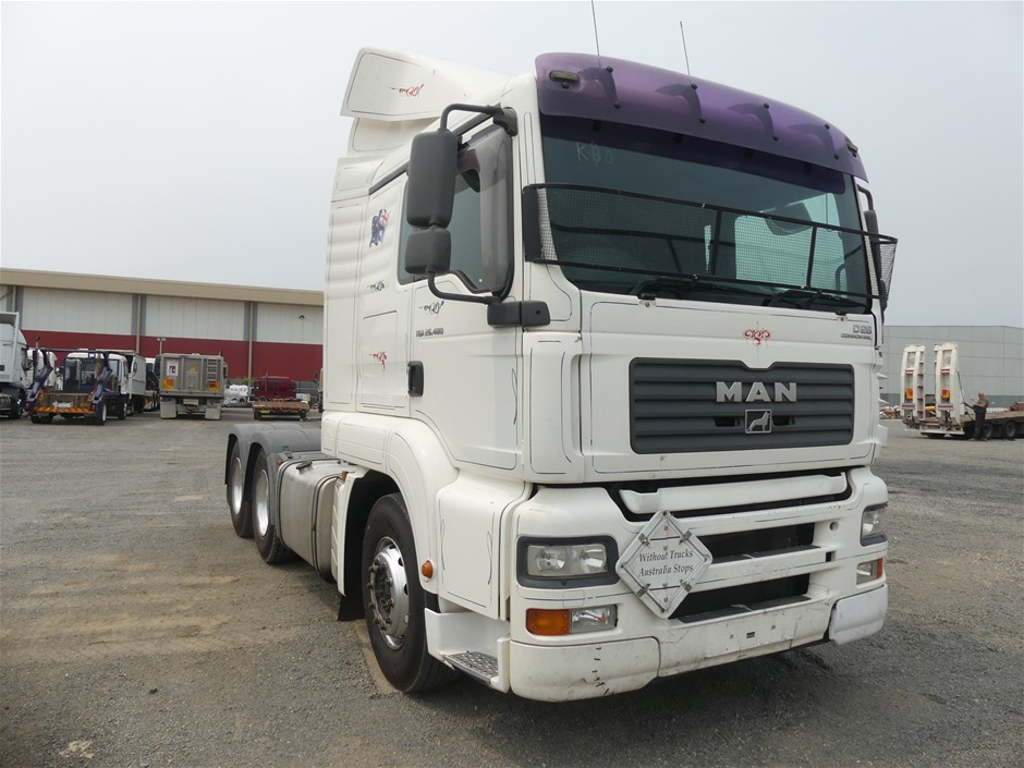 2008 M.A.N. TGA-26.480 6 x 4 Prime Mover Truck
