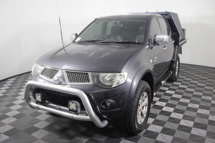 2011 Mitsubishi Triton GLX-R 4WD MN Turbo Diesel Dual Cab
