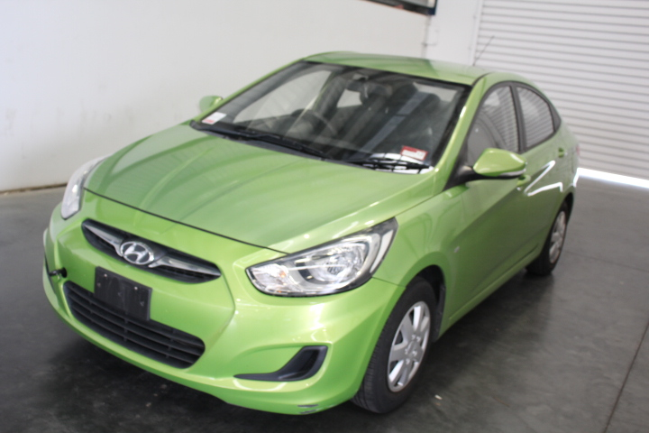 2012 Hyundai Accent Active RB Automatic Sedan