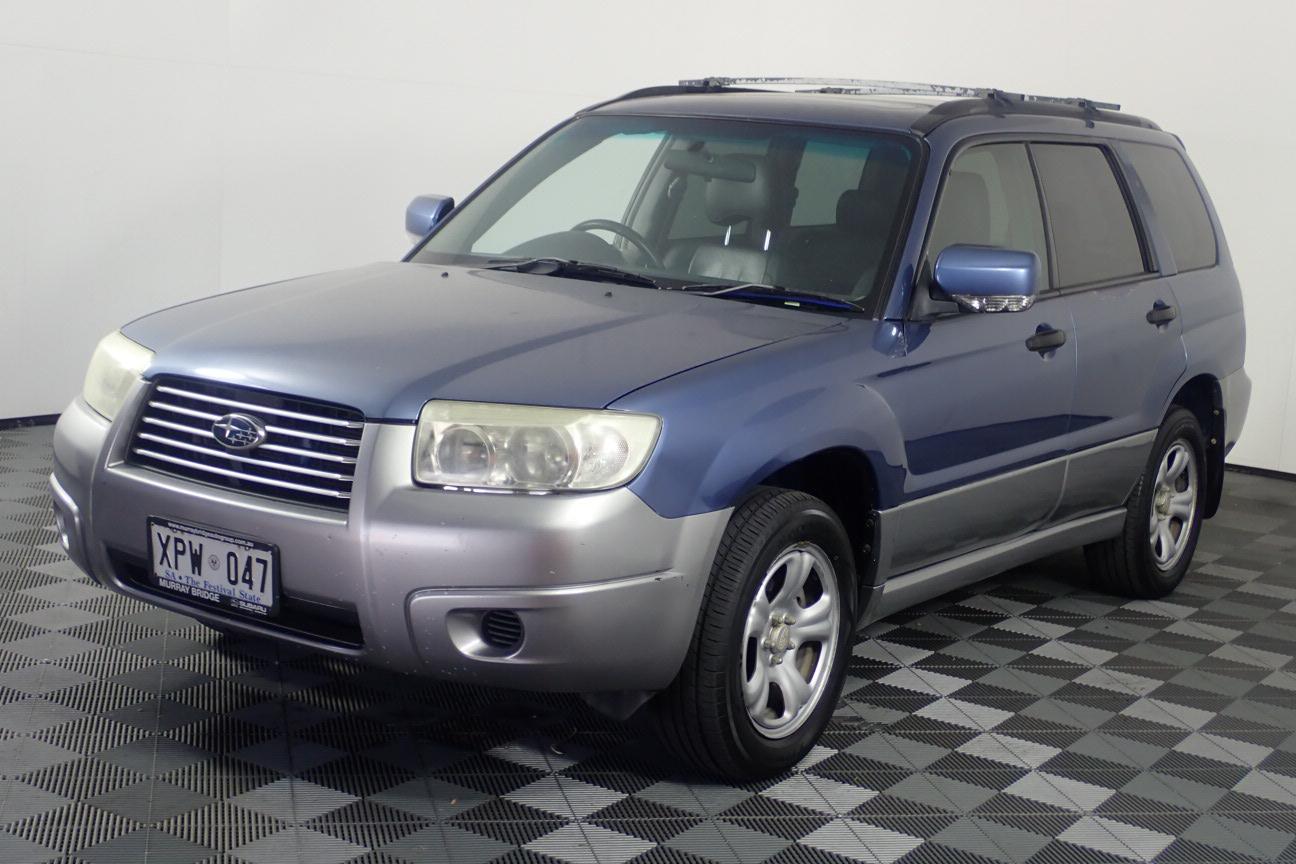 2007 Subaru Forester X Manual Wagon