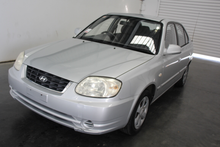 2005 Hyundai Accent 1.6 LS Manual Hatchback