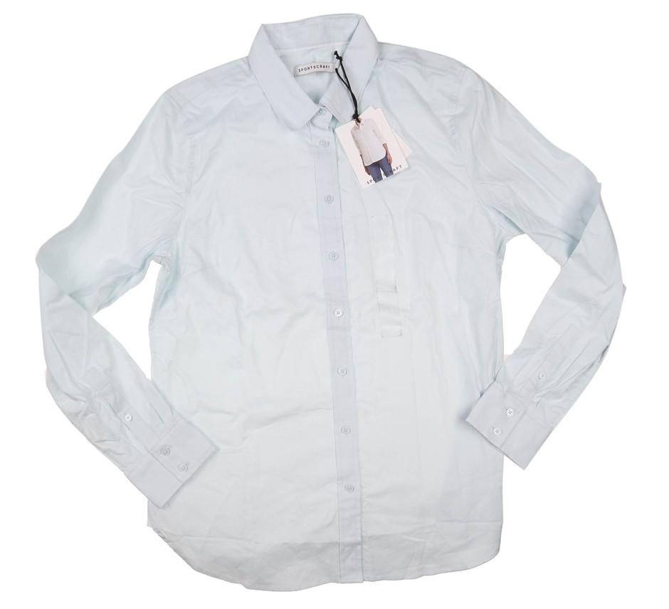 Women`s SPORTSCRAFT Summer Shirt, Size XS, 97% Cotton & 3% Elastane, Pistac