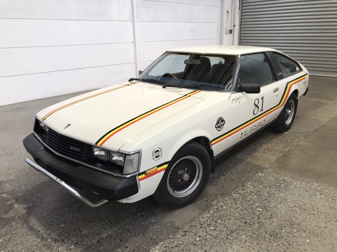 1981 Toyota Celica Manual Liftback