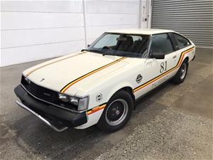 1981 Toyota Celica Manual Liftback