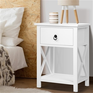 Artiss Bedside Tables Drawers Side Table