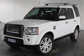 Unreserved 2013 Land Rover Discovery 3.0 TDV6