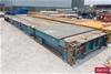 <B>40` Container Flat Rack (Blue)</B> <li>Spring Loaded lift ends</li> <l