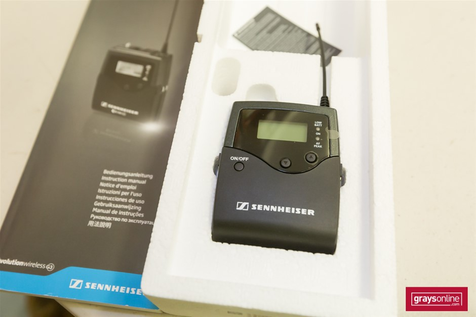 Stereo Receiver & Body Pack Transmitter