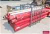 <B>30 x Assorted Steel Painted Pipe and Stillage</B> <li>Approx. Length (m