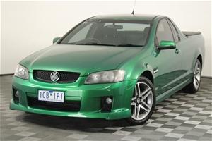 2009 Holden Commodore SV6 VE Manual Ute