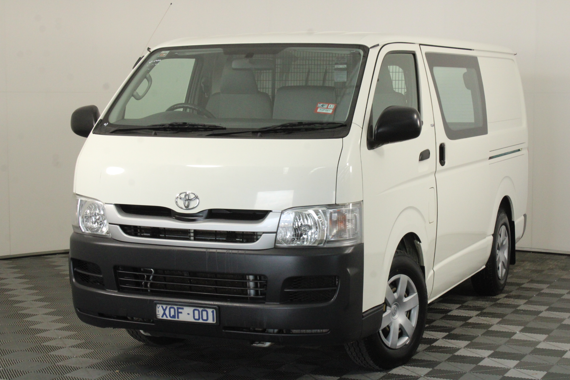 2010 Toyota Hiace LWB KDH201R Turbo Diesel Automatic Van