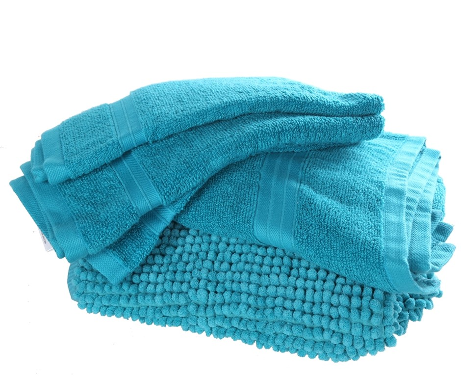 CROWNING TOUCH 6pc Gift Set, Including: Bath Towel (71cm x 132cm), 2 x Hand